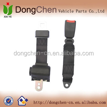 2 point retractable safety belt&safety harness,two point safety seat belt retractor