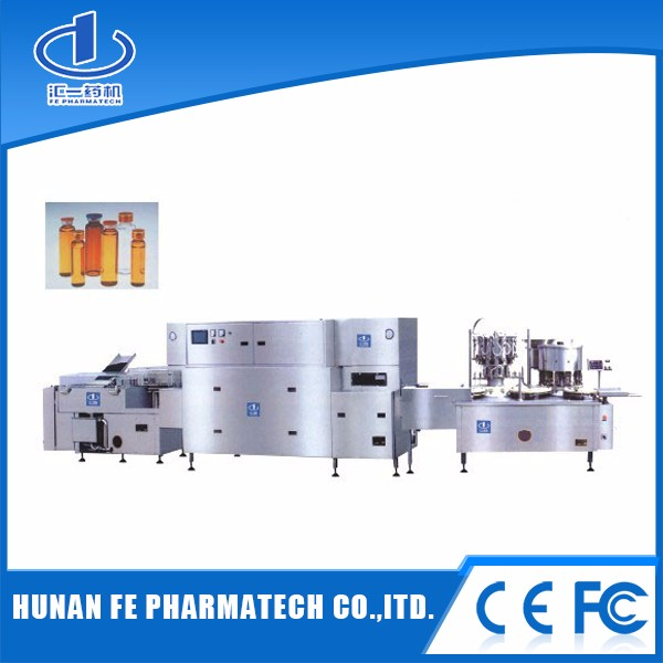Bottle washing filling capping machine,syrup filling line