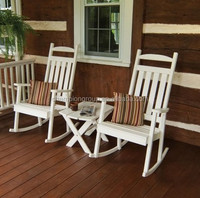 foldig wooden rocking chairs /double rocking chairs