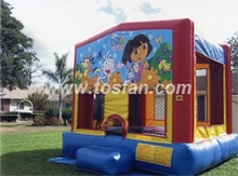 Customized inflatable castle art banners A2096