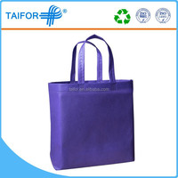 recycle non woven bag rope handle folding shopping bag for market