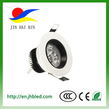 HOT SALE LED DOWN LIGHT 3X1W led down light strong lamp body 3W 5W 7W 9W with CE ROHS