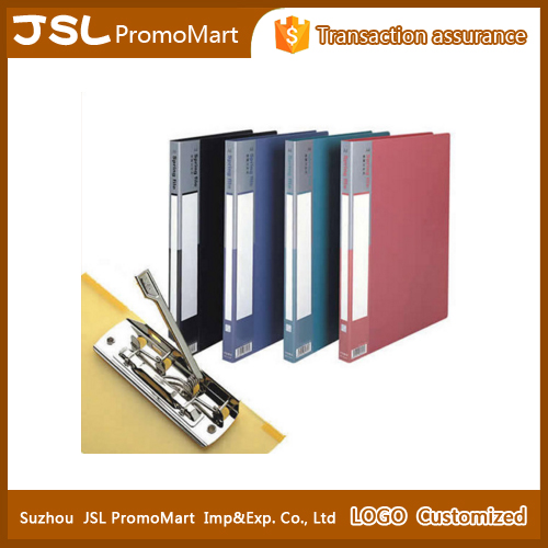 Promotional gifts clear holder file a4 office clip file folder