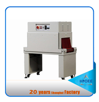 automatic hot plastic bottle shrink film packing machine