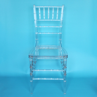 Quality Resin Clear Acrylic Crystal Chiavari