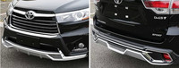 Latest hot sale bumper guards for 2015 Highlander exterior decoration