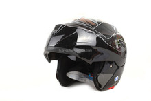 2016 China HD flip up motorcycle helmet with two visor HD-701