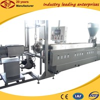 China diy sole underwater pelletizer Plastic Extruder