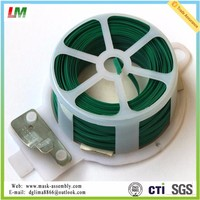 50m Garden Plant Vegetable Plastic Coated Twist Tie China Manufacturer
