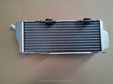 suzuki rmz250 left for after-sale motorcycle radiator