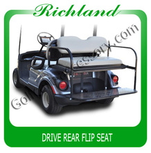 golf cart flip rear seat for drive
