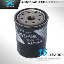 Hotsale auto engine automotive oil filter for toyota 90915-yzzd4