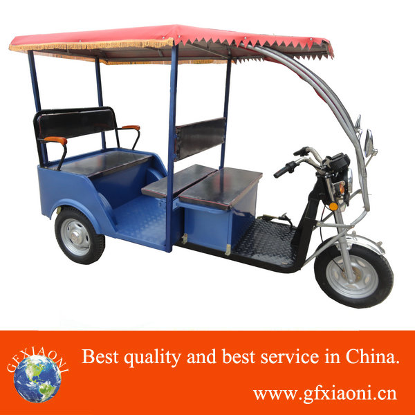 China powerful battery Electric Rickshaw for passager