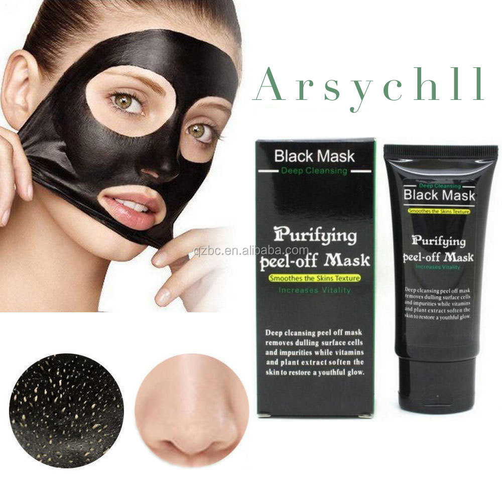 Purifying Black Peel-off Mask Facial Cleansing Blackhead Remover Charcoal Face Mask