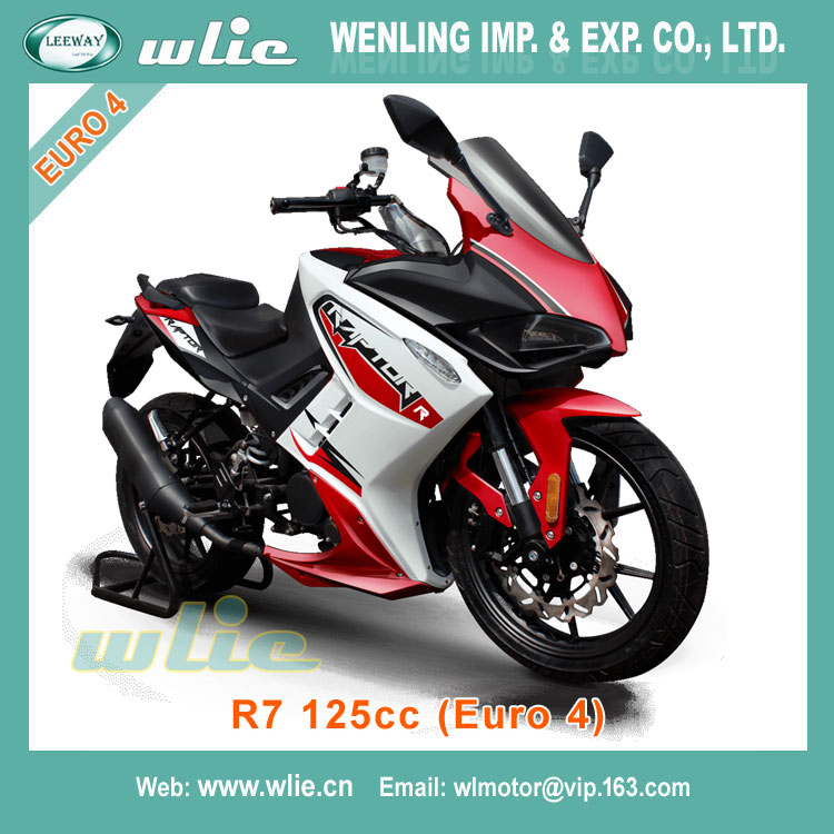 Kaxa dirt bike kawasaki ninja motorcycle EEC Racing R7 125CC with Euro 4 Water cooled EFI system