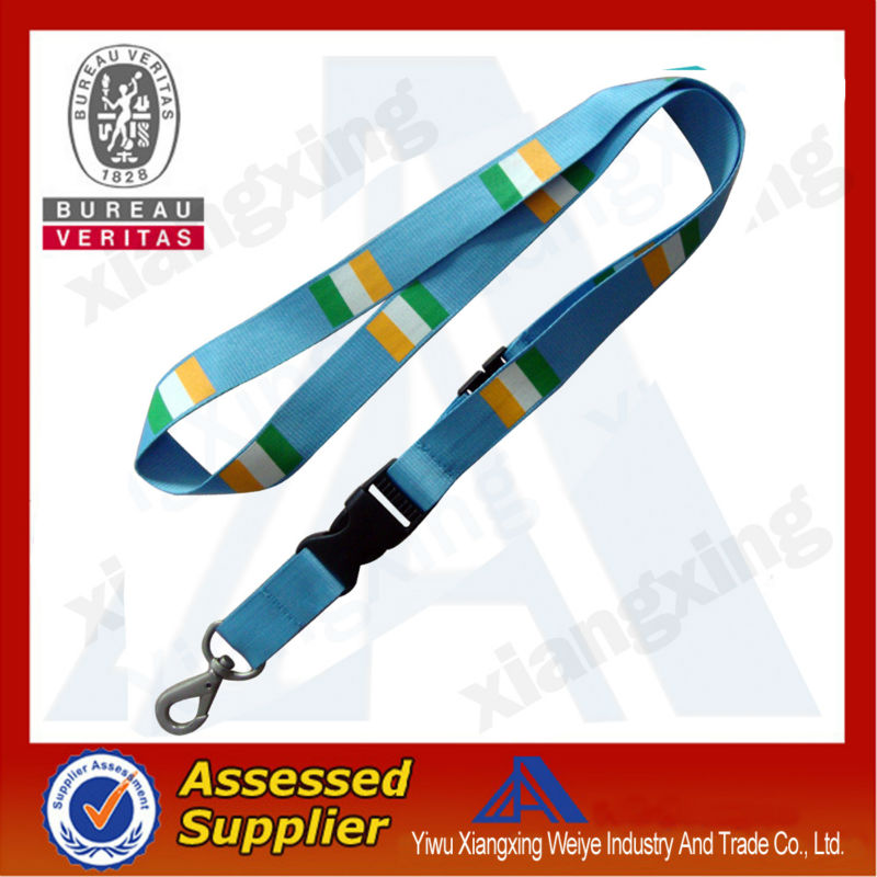 Wholesale custom country flag lanyard made in china