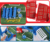 Popular dia 22 cm air suspension mini table soccer board hand football game with light