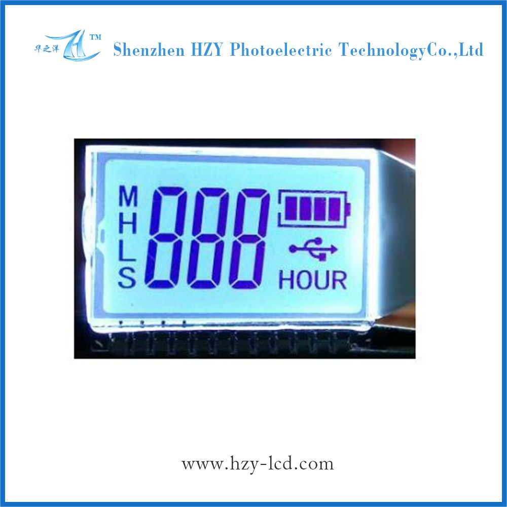 lcd digital scale segment india employ display module tn lcd