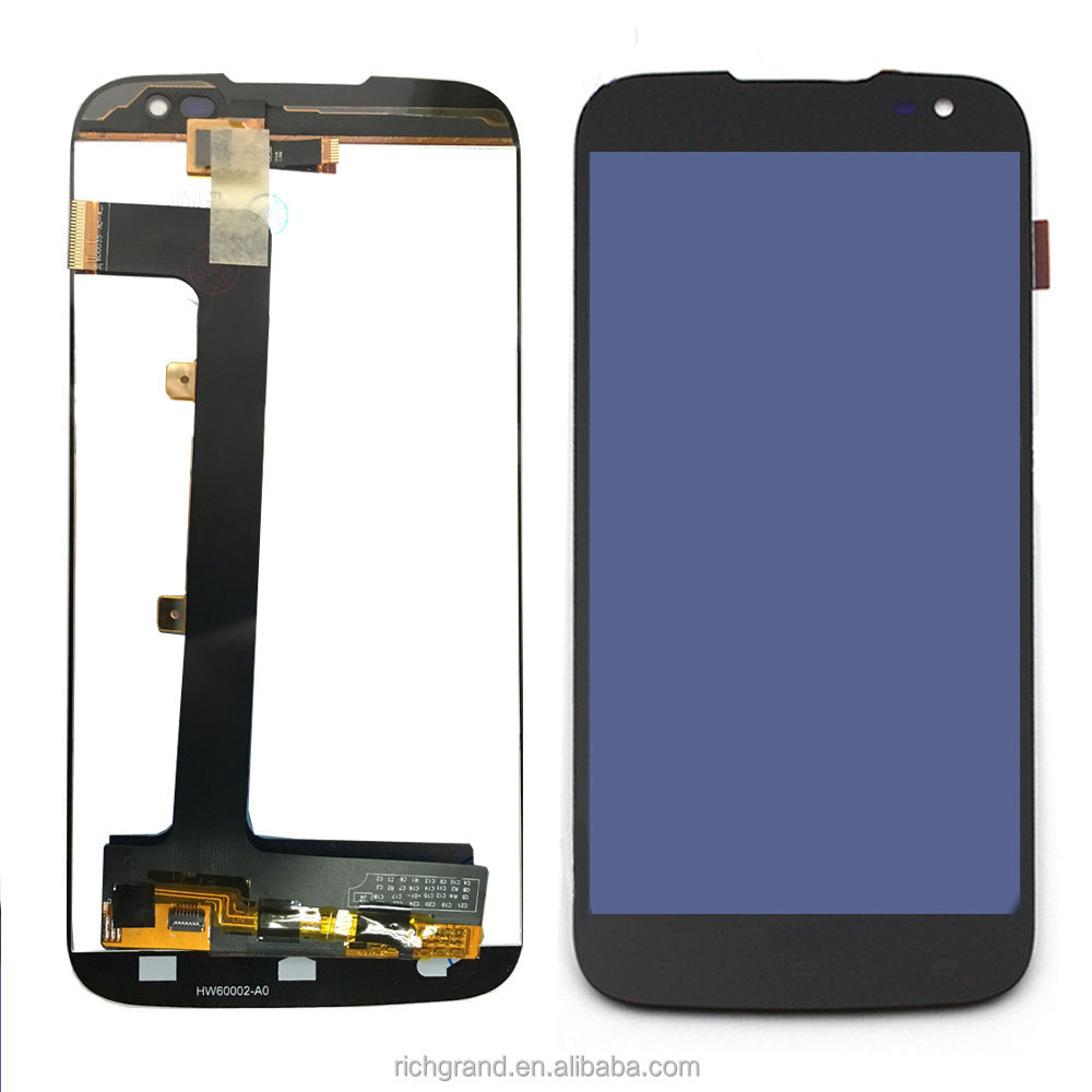 For BLU STUDIO D651 D651U D651L Black Touch Screen + LCD Display Assembly