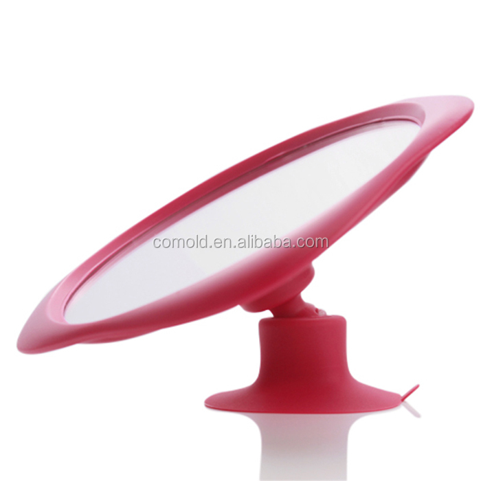 2015 Plastic Modern Toilet Mirror and Round Mirror Tiles and Magnifying Makeup Mirror