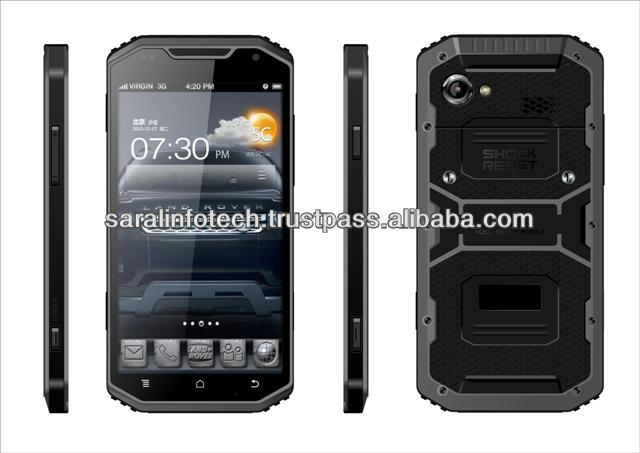 S-Note, IP68 Android 4.2 waterproof, Dustproof, Shockproof Mobile phone