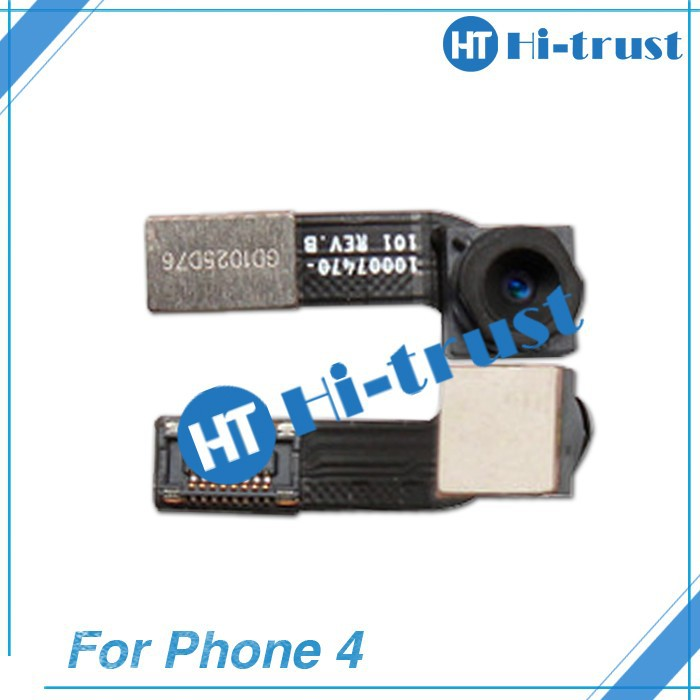 Free shipping Wholesale 100% original high quality front camera for iphone 4