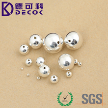 Stainless Steel Round Spacer Bead Jewelry Finding Craft Supplies