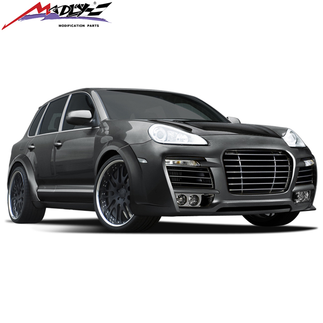 Madly body kits for Cayenne 957 body kit style TE made of High quality FRP Grade A PU material body kit for Porsche Cayenne 957
