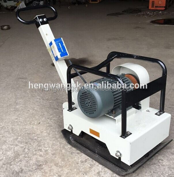electric concrete plate compactor