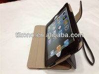 novelty card slot wallet stand leather case for ipad mini