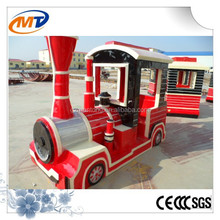 Antique train kiddie amusement rides train indoor playground game
