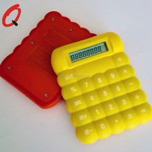mini silicone plastic rubber smart promotion calculator