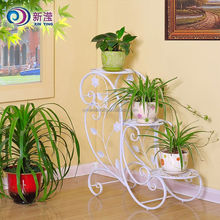 Best Price Garden Ornaments Metal Wrought Iron 3 Tiers Plant Stand