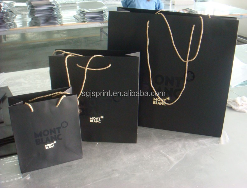 Paper Promotional bags for Clothes