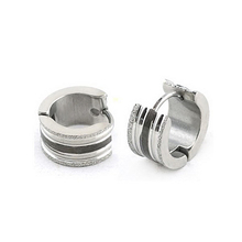 new fashion wholesale earring, stainless steel earring hoop
