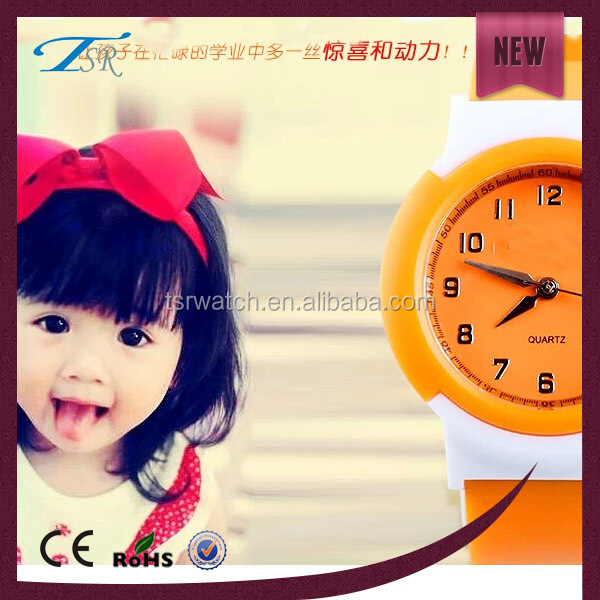 kids best gift watch,fruit color silicone watch eco-friendly