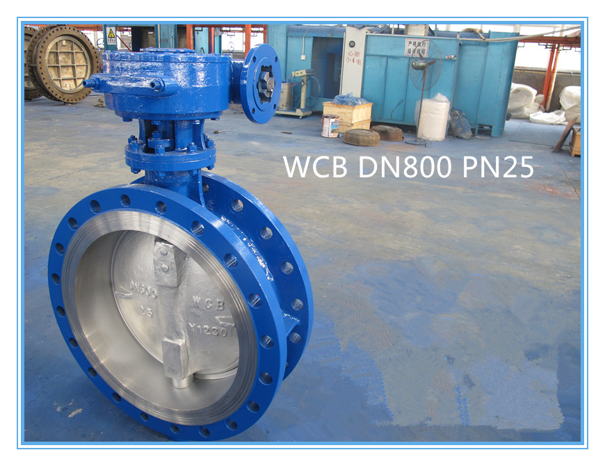 metal seated DN500 PN 25 butterfly valves export to Russia