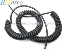 Tinsel 2 pin cable line telephone wire connection handset cord straight