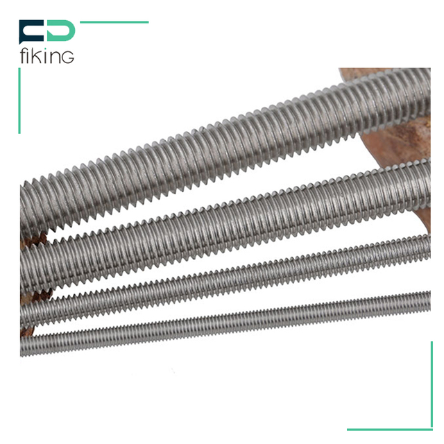 China supplier stainless steel internally threaded rod
