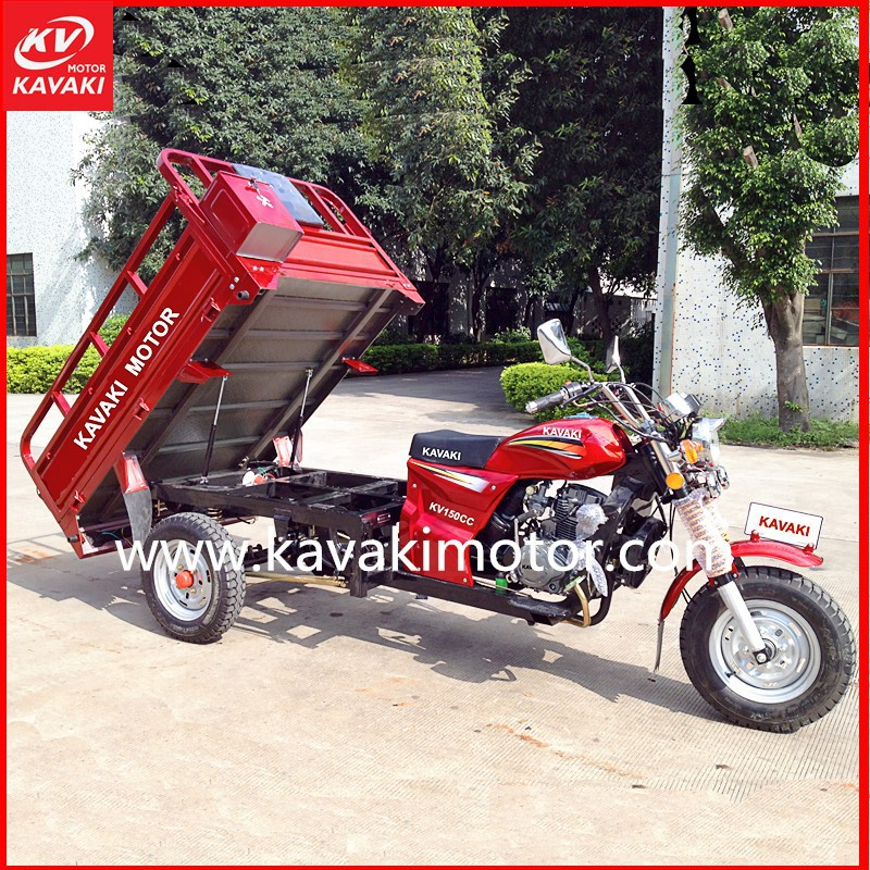 GZ 150cc 200cc Three Wheel Motor Tricycle / Trike 3 Wheel Car / Three Wheeler Auto Rickshaw