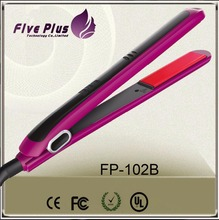 Five Plus hot selling fast heat hair straightener as seen on TV professional LCD hair straightener