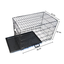 Metal galvanized Suitcase cage for dogs
