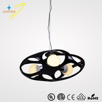 GZ50023-3P light fixture wire lamp indian chandelier istanbul Resin drum modern pendant light