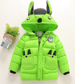 2016 new winter clothes cartoon Korean boys and girls jacket down coat