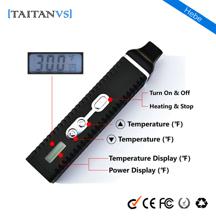New china Vaporizers for sale Taitanvs-hebe original wholesale wax pen vaporizer dry herb attachment