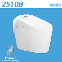 New 2016 China Supplier Alibaba New Technology Bathroom Design One Piece Smart Toilet