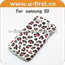 Plastic hard case for galaxy S3 ,animal tiger pattern