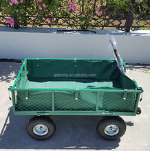 TC 1845 garden cart with 3.50-4 pneumatic rubber wheel