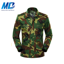 Classic Custom Green Military Camouflage Fabric Army Camouflage China Military Uniform