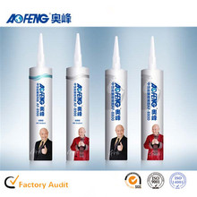 Factory Direct Supply OEM Non-toxic Glass Silicone Gum Neutral Waterproof Clear Liquid Glue